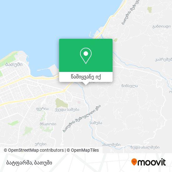 ბატფარმა რუკა