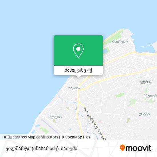 ვილმარტი (ინასარიძე) რუკა