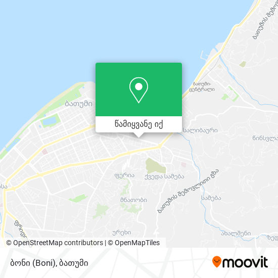 ბონი (Boni) რუკა