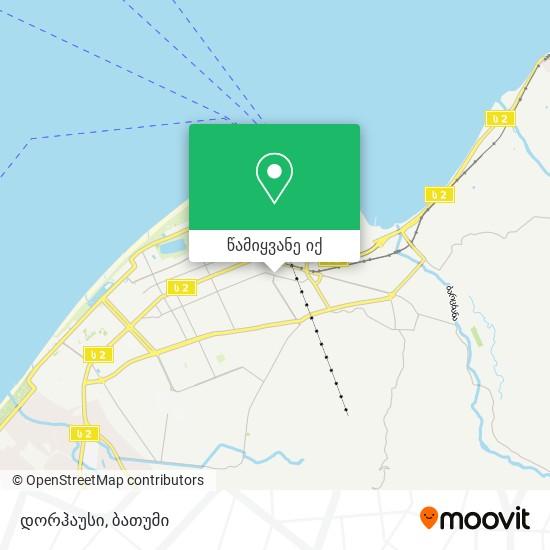 დორჰაუსი რუკა