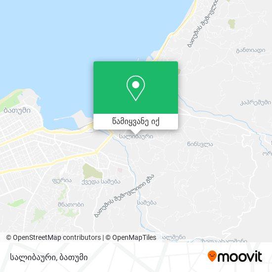 სალიბაური რუკა