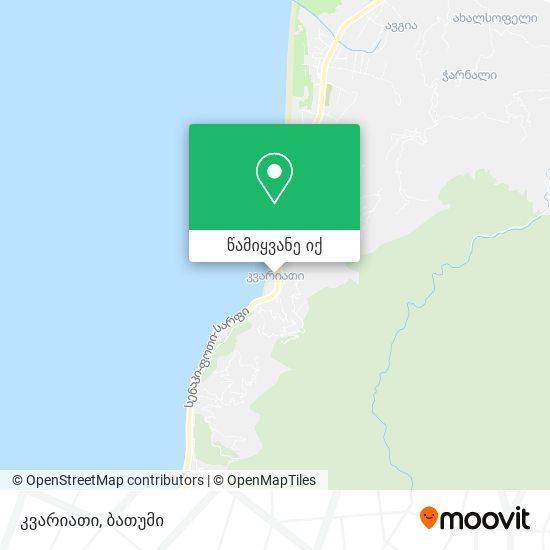 კვარიათი რუკა