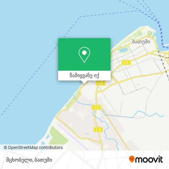 მცხობელი რუკა