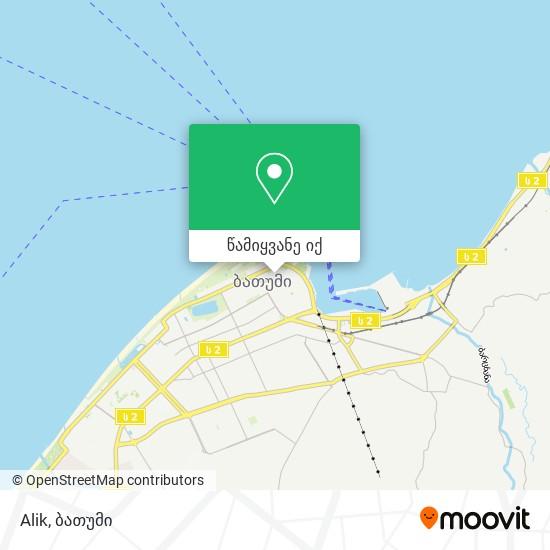 Alik რუკა