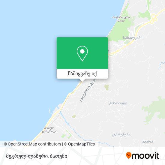 მეგრულ-ლაზური რუკა
