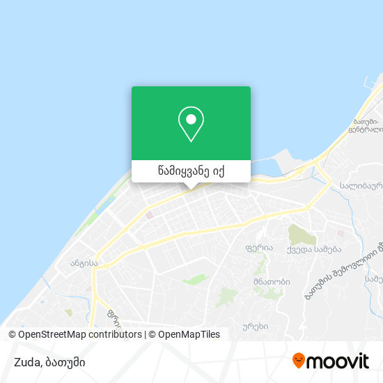 Zuda რუკა
