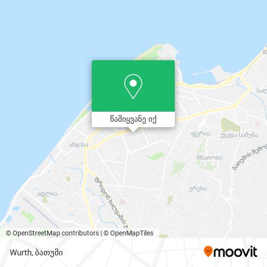 Wurth რუკა