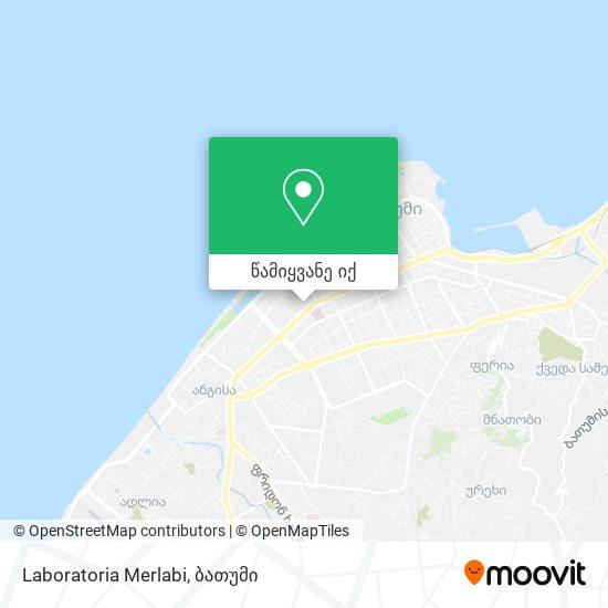 Laboratoria Merlabi რუკა