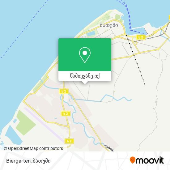 Biergarten რუკა
