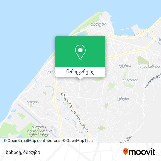 სახაშე რუკა
