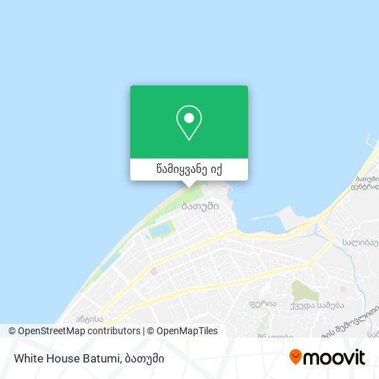 White House Batumi რუკა