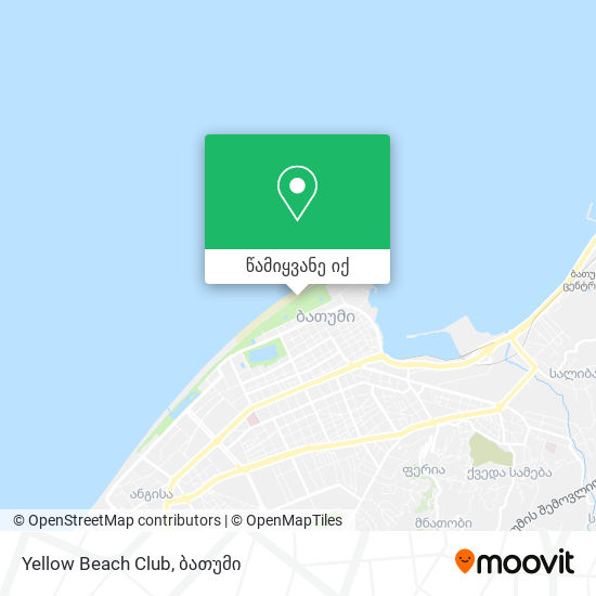 Yellow Beach Club რუკა