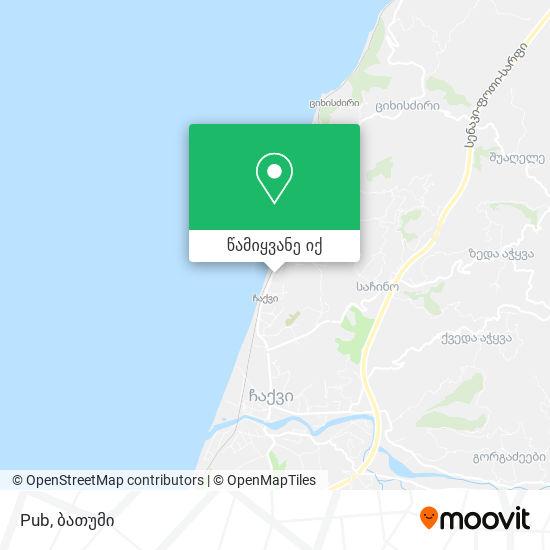 Pub რუკა