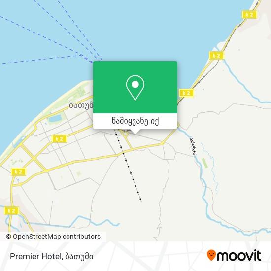Premier Hotel რუკა