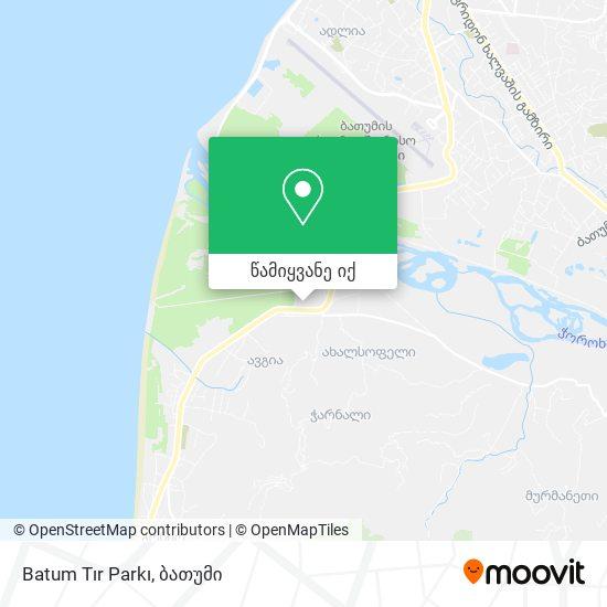 Batum Tır Parkı რუკა