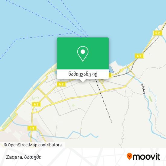Zaqara რუკა