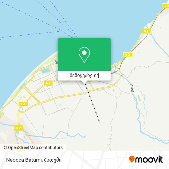 Neocca Batumi რუკა