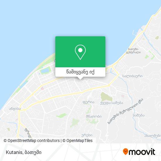 Kutanis რუკა