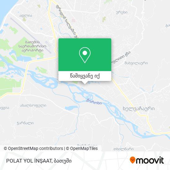 POLAT YOL İNŞAAT რუკა