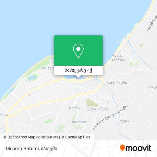 Dinamo Batumi რუკა