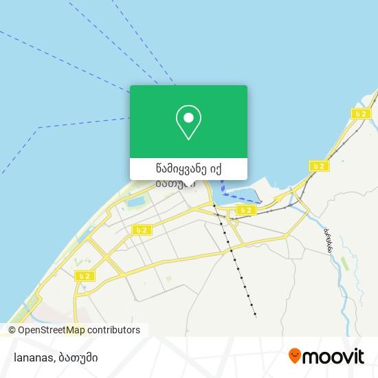lananas რუკა