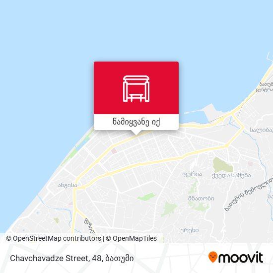 Chavchavadze Street, 48 რუკა