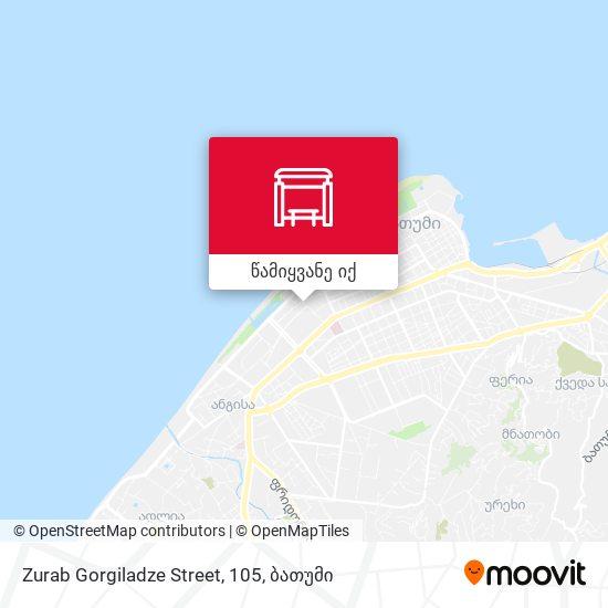 Zurab Gorgiladze Street, 105 რუკა