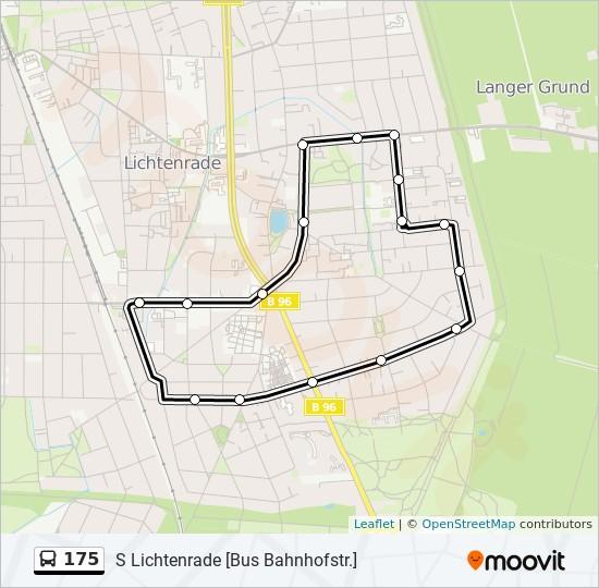 Karte Berlin Lichtenrade.Linie 175 Fahrplane Haltestelle Karten S Lichtenrade Bus