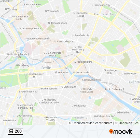 200 Route Time Schedules Stops Maps Michelangelostr