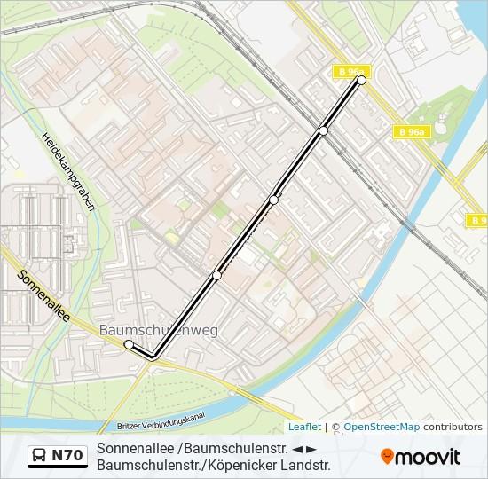 mappa n70