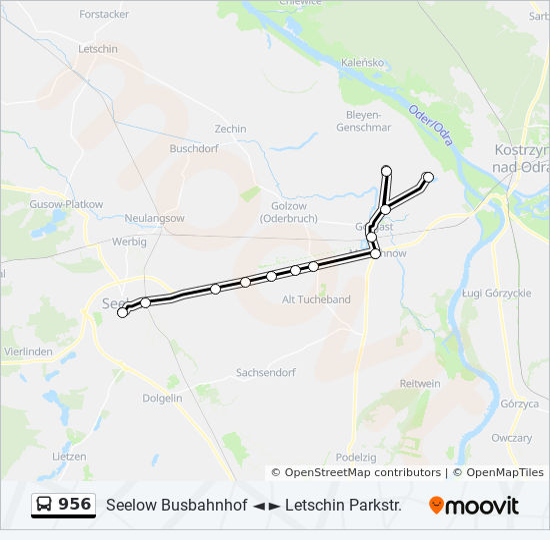 bus linie 956 fahrtenverlauf