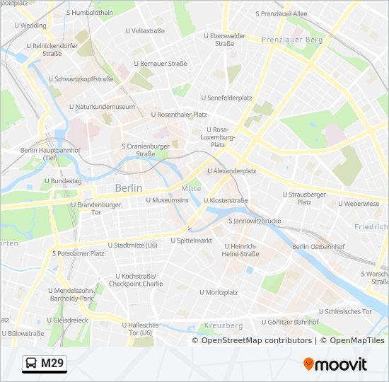 Linie M29 Fahrpläne Haltestelle Karten U Hermannplatz