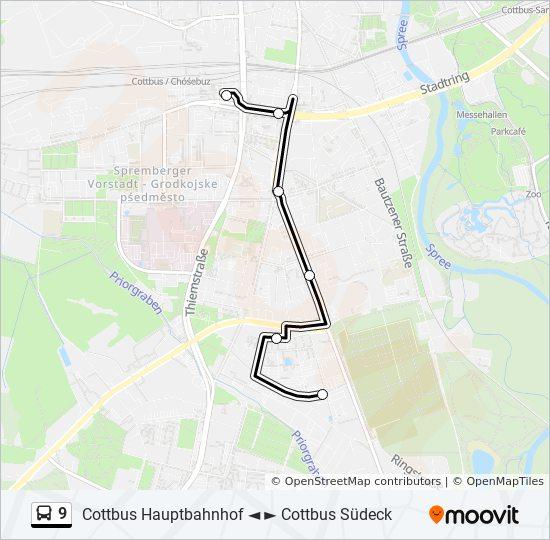 Fahrplan Linie 9 Köln