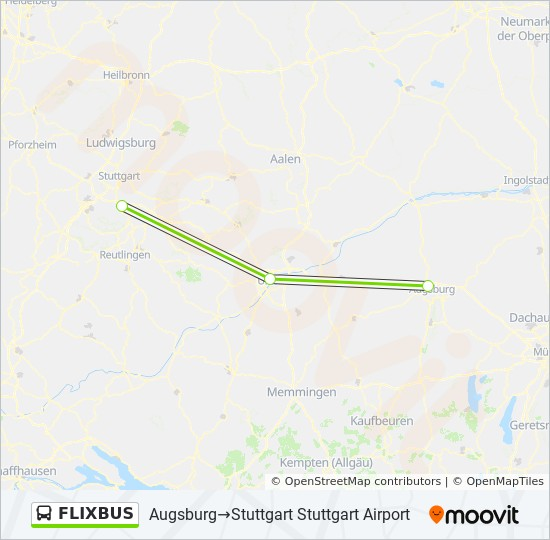 Zwickau Karte.Linie Flixbus Fahrpläne Haltestelle Karten Zwickau Zwickau