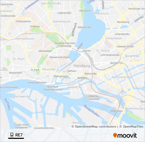 Flensburg Karte.Linie Re7 Fahrpläne Haltestelle Karten Flensburg