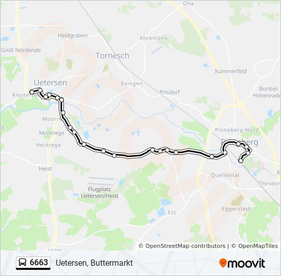 Hvv Karte Zonen.Linie 6663 Fahrplane Haltestelle Karten Uetersen