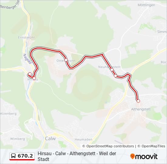 Nordschwarzwald Karte.Linie 670 2 Fahrpläne Haltestelle Karten Hirsau Klinik