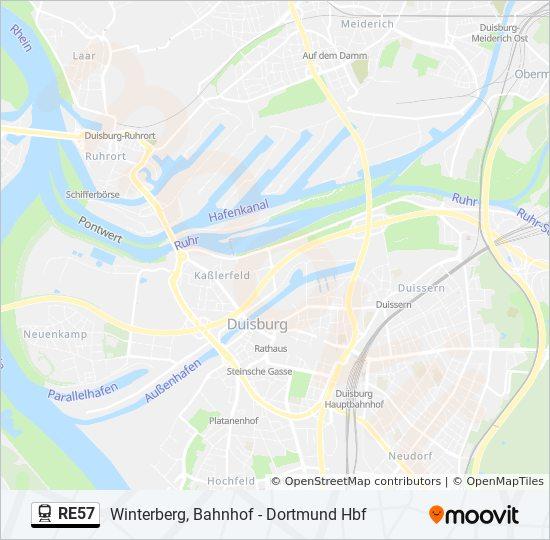 Db Fahrplan Karte.Linie Re57 Fahrpläne Haltestelle Karten Winterberg Westf