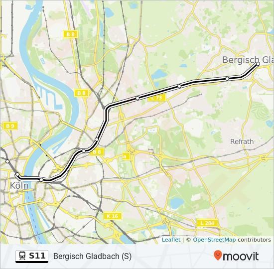 S Bahn S11 Bergisch Gladbach Fahrplan
