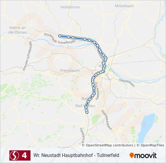 Linie S4 Fahrpläne Haltestelle Karten Leobersdorf
