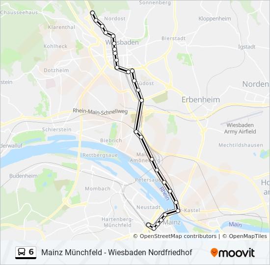Linie 6 Mainz