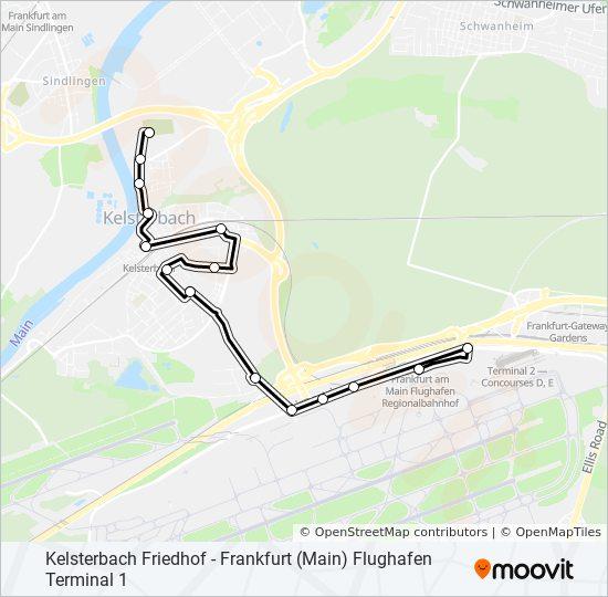 73 bus Line Map