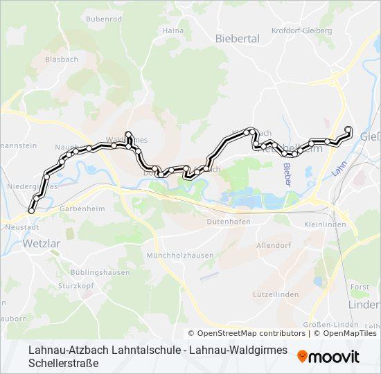 Linie 24 Fahrplane Haltestellen Karten Wetzlar Bahnhof Zob