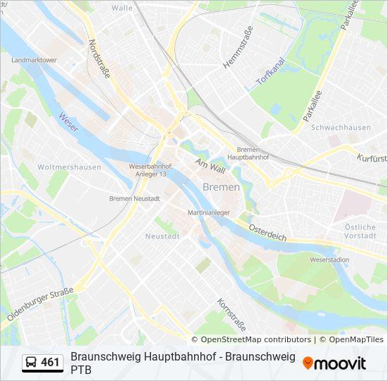 Linie 461 Fahrpläne Haltestelle Karten Braunschweig