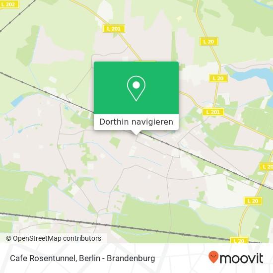 Cafe Rosentunnel Karte