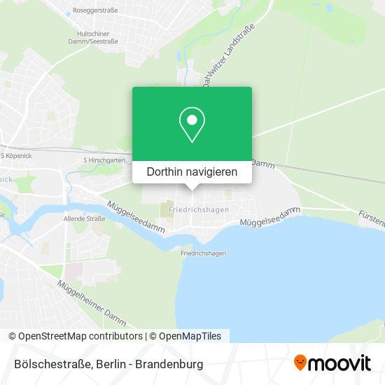 Bölschestraße Karte