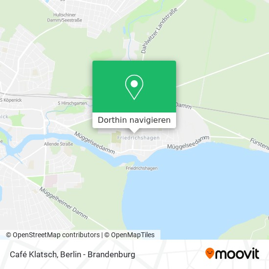 Café Klatsch Karte