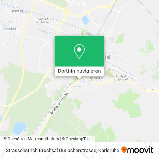 Wie komme ich zu Strassenstrich Bruchsal Durlacherstrasse