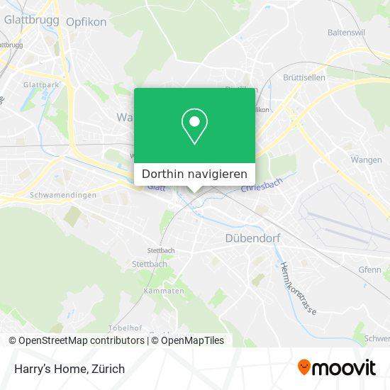 Harry's Home Karte