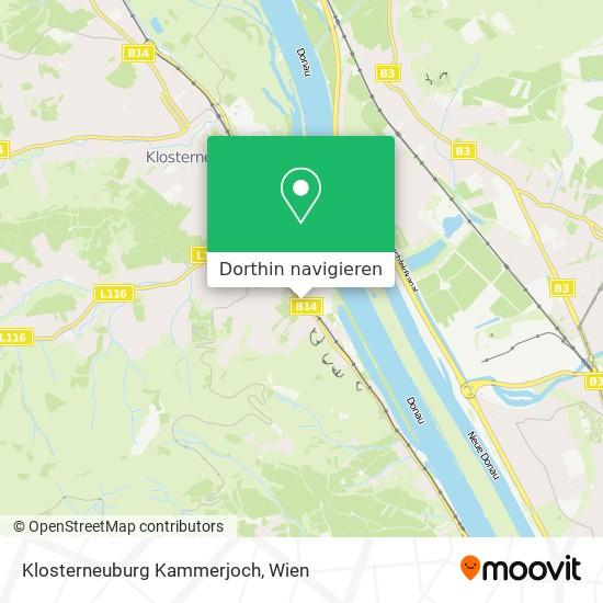 Klosterneuburg Kammerjoch Karte